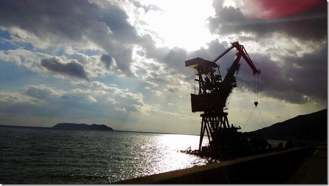 座礁船Zと逆行の画像