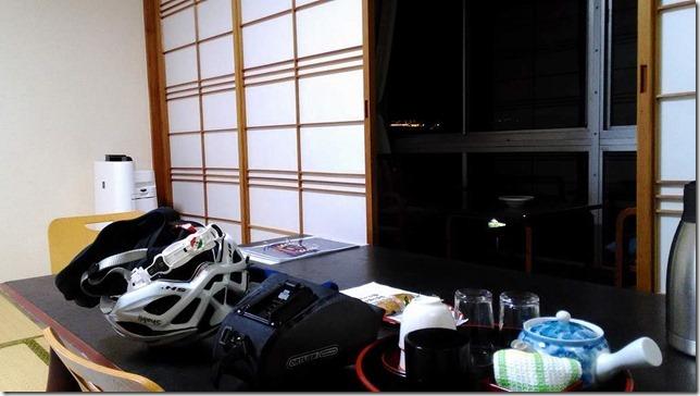 南淡路海上ホテルの窓際画像