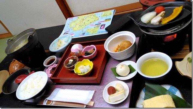南淡路海上ホテルの豪華な朝食画像