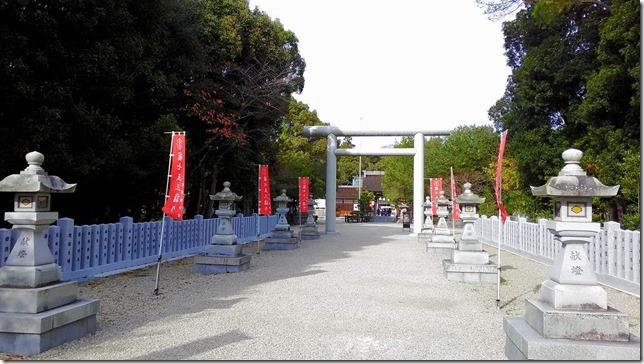 伊弉諾神宮入口の画像