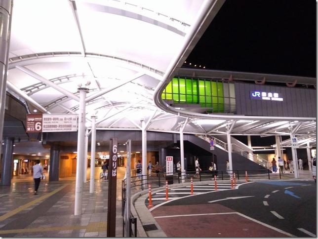 夜の奈良駅