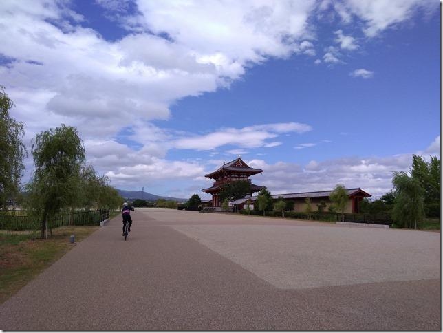 平城京朱雀門の画像