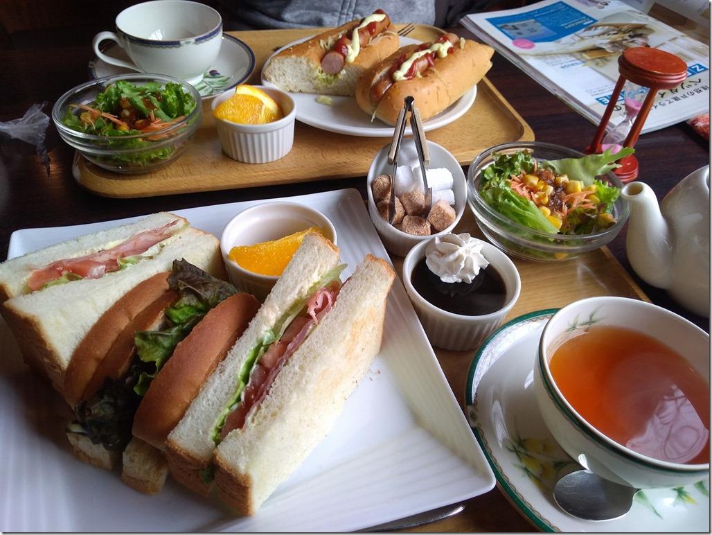 和田珈琲季楽のサンドウィッチ画像