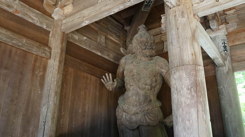 財賀寺仁王像