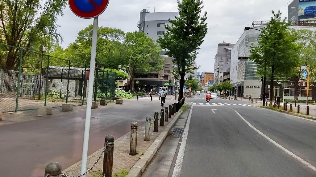 栄三丁目交差点